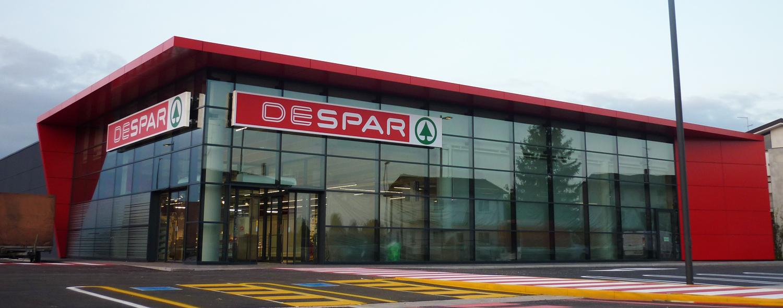 arredamento contract Supermercato Despar Val Gardena Italia your team aradeo