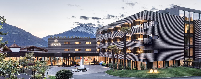 arredamento contract Hote Schenna Resort (BZ) Alto Adige, Italia your team aradeo